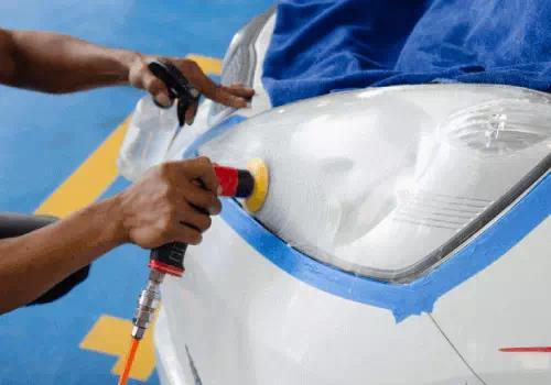 pengerjaan coating headlamp mobil medan berkualitas