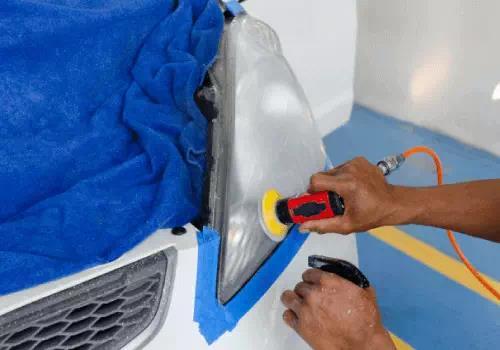 proses coating headlamp mobil medan berkualitas