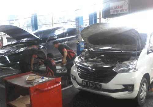 service dan Perbaikan mobil medan