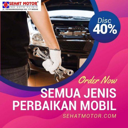 promo service mobil medan